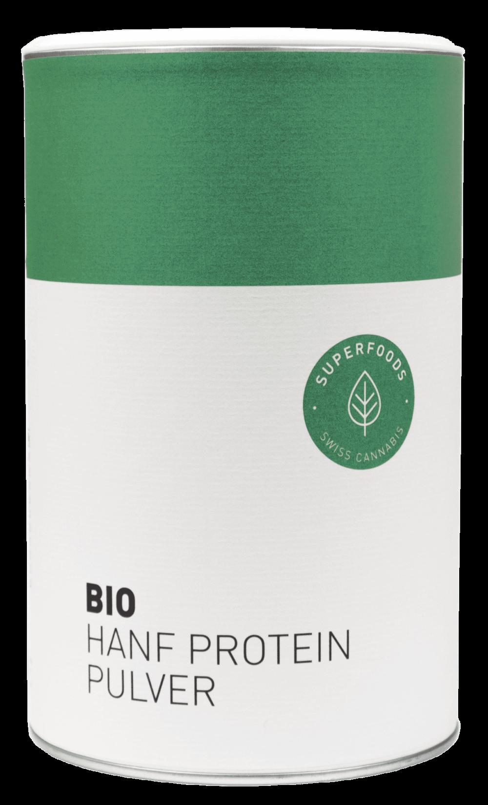 Bio Hanf Protein Pulver CBD Hanf Schweiz online kaufen