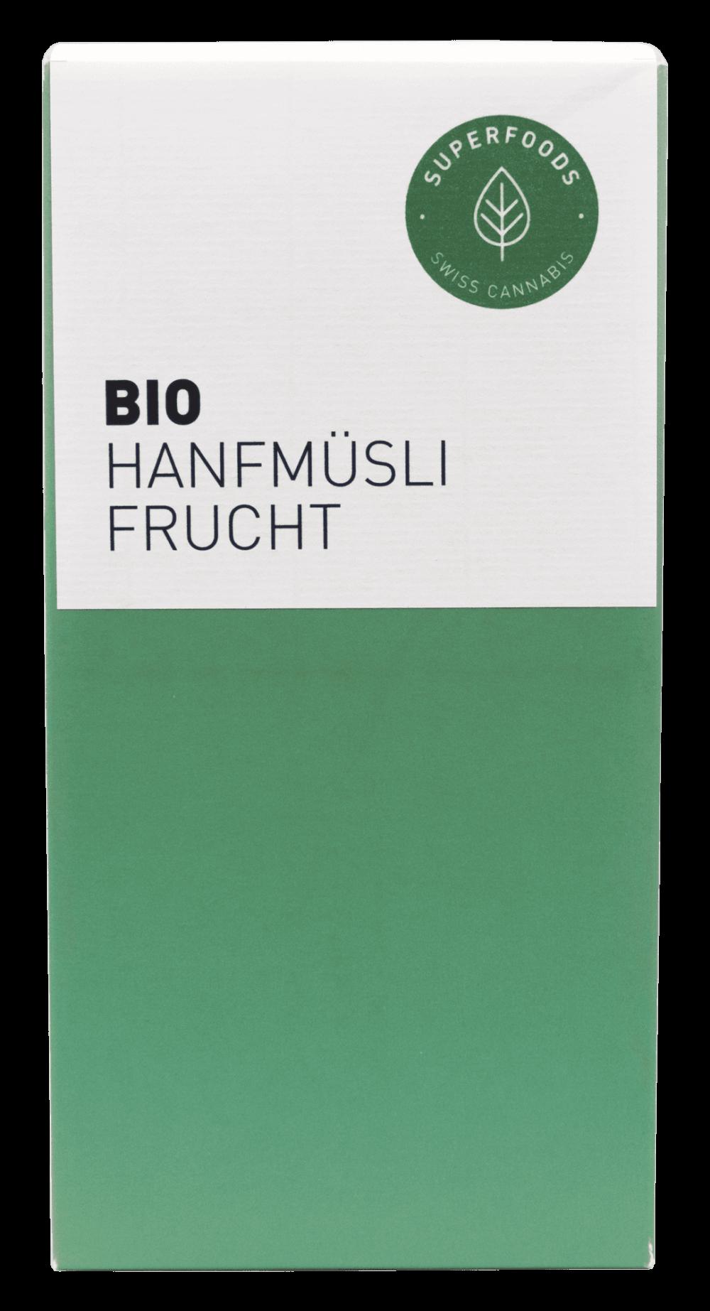 Hanfmüesli Früchte CBD Hanf Schweiz online kaufen